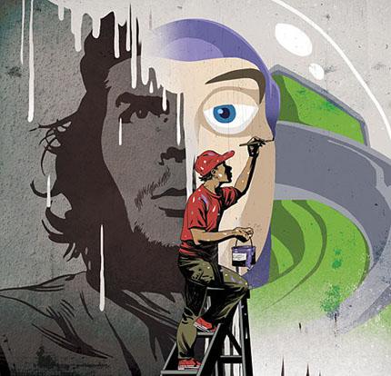 Die besten 100 Bilder in der Kategorie graffiti: Neue Zeiten, Neues Graffiti