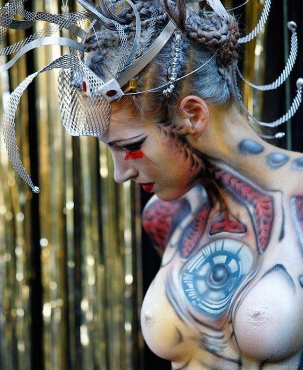 Die besten 100 Bilder in der Kategorie bodypainting: Bodypainting