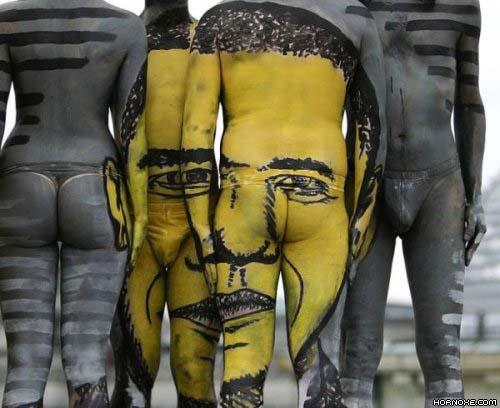 Die besten 100 Bilder in der Kategorie bodypainting: Multi-Bodypainting
