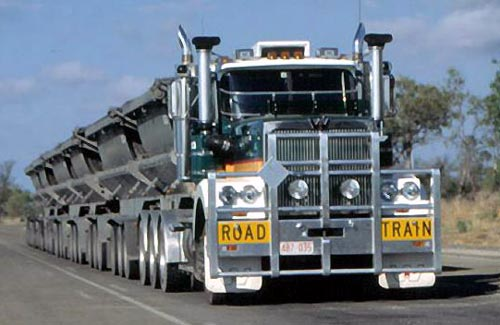 Die besten 100 Bilder in der Kategorie transport: Roadtrain-Truck in Australia
