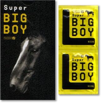 Die besten 100 Bilder in der Kategorie werbung: Super Big Boy Condoms