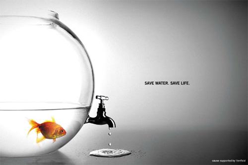 Die besten 100 Bilder in der Kategorie werbung: save water. save life