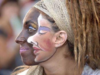 Die besten 100 Bilder in der Kategorie bodypainting: Gesicht-Gesicht-Bodypainting