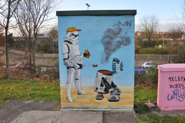 StarWars Graffiti
