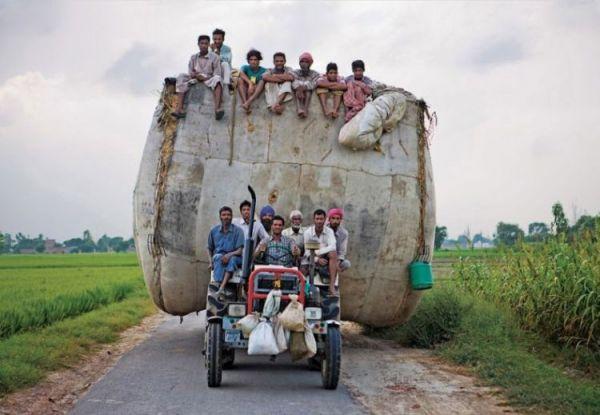 Die besten 100 Bilder in der Kategorie transport: Indische Ernten-Transport
