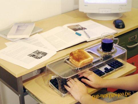 Die besten 100 Bilder in der Kategorie clever: Frühstücks-Tastatur-Tablett-Ständer