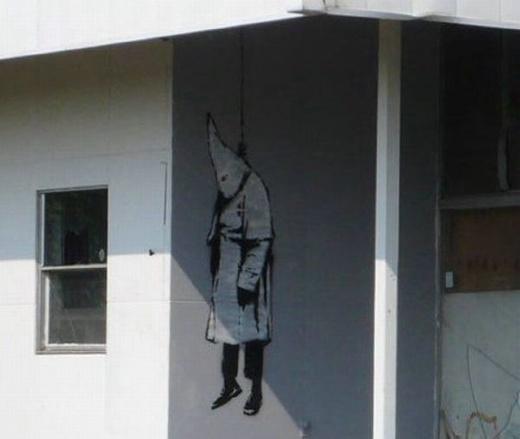 Die besten 100 Bilder in der Kategorie graffiti: KuKluxKlan-Grafitti