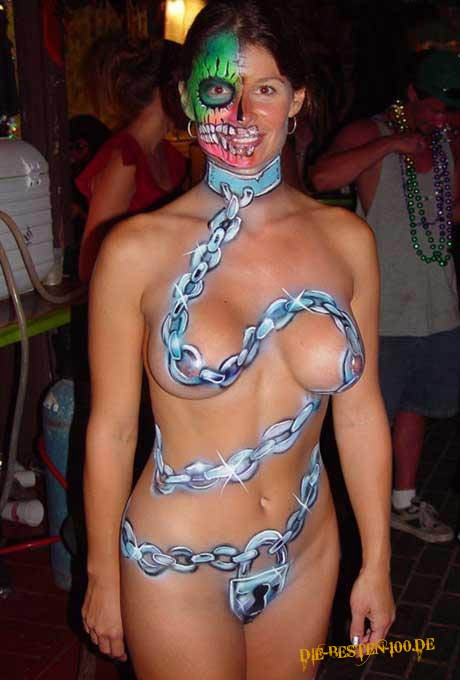 Die besten 100 Bilder in der Kategorie bodypainting: Ketten-Bodypainting