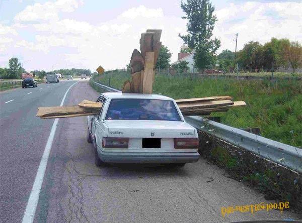 Die besten 100 Bilder in der Kategorie transport: Holz-Transport im Volvo