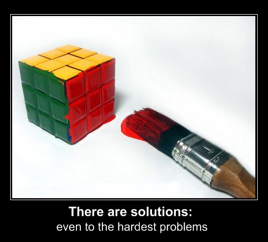 Die besten 100 Bilder in der Kategorie clever: There are solutions: even to the hardest problems