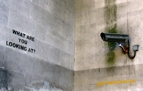 Die besten 100 Bilder in der Kategorie graffiti: Camcorder - What are you looking at?