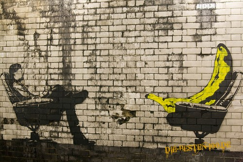 Die besten 100 Bilder in der Kategorie graffiti: Bananen-Therapie