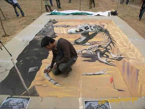Die besten 100 Bilder in der Kategorie strassenmalerei: Ausgrabung