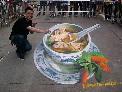 Die besten 100 Bilder in der Kategorie strassenmalerei: Chinese-Soup