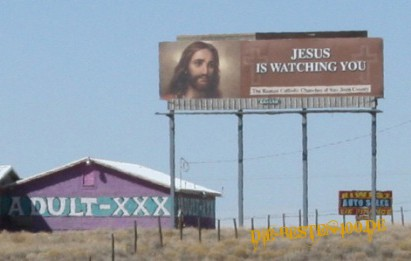 Jesus is watching you - Adult XXX
