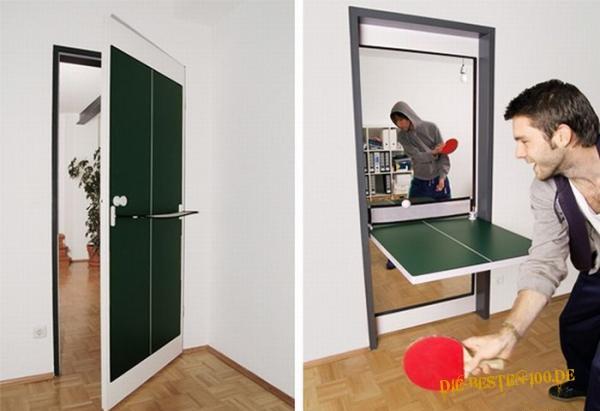 Die besten 100 Bilder in der Kategorie clever: Tischtennisplatten-Tür