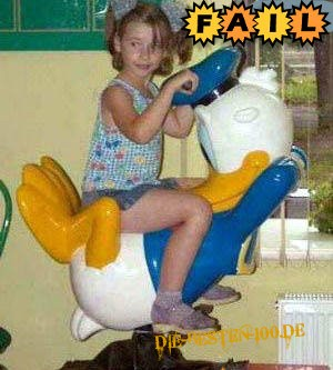 Donald Duck FAIL