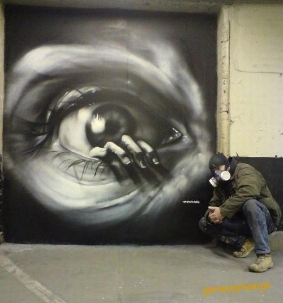 Die besten 100 Bilder in der Kategorie graffiti: Hand aus Auge Tattoo