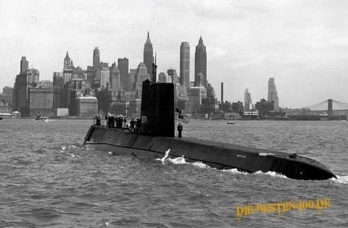 U-Boot vor Manhatten