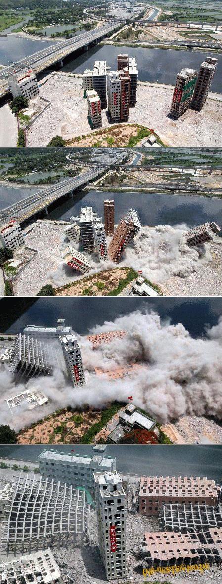 Die besten 100 Bilder in der Kategorie shit_happens: Häuser-Sprengung