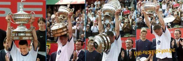Die besten 100 Bilder in der Kategorie shit_happens: Tennis-Pokal fällt auseinander