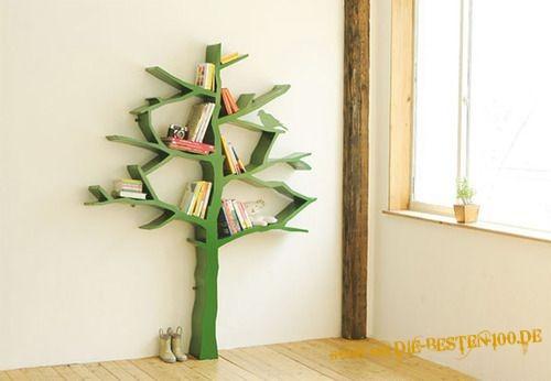Die besten 100 Bilder in der Kategorie moebel: Baum-Regal