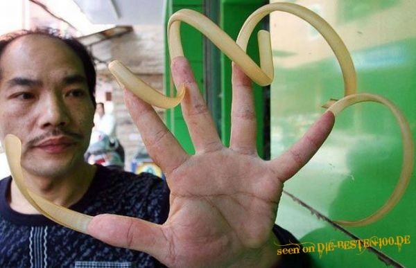 Fingernägel mann lange Wie formt