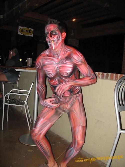 Die besten 100 Bilder in der Kategorie bodypainting: Muscle Bodypainting