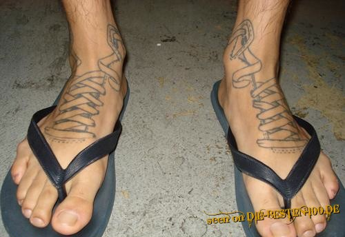Air-Jordan-Sandalen Tattoo