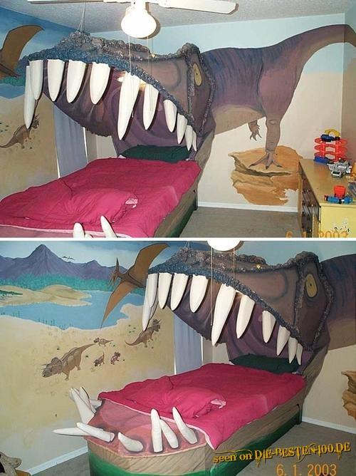 Die besten 100 Bilder in der Kategorie moebel: Dinosaurier-Bett