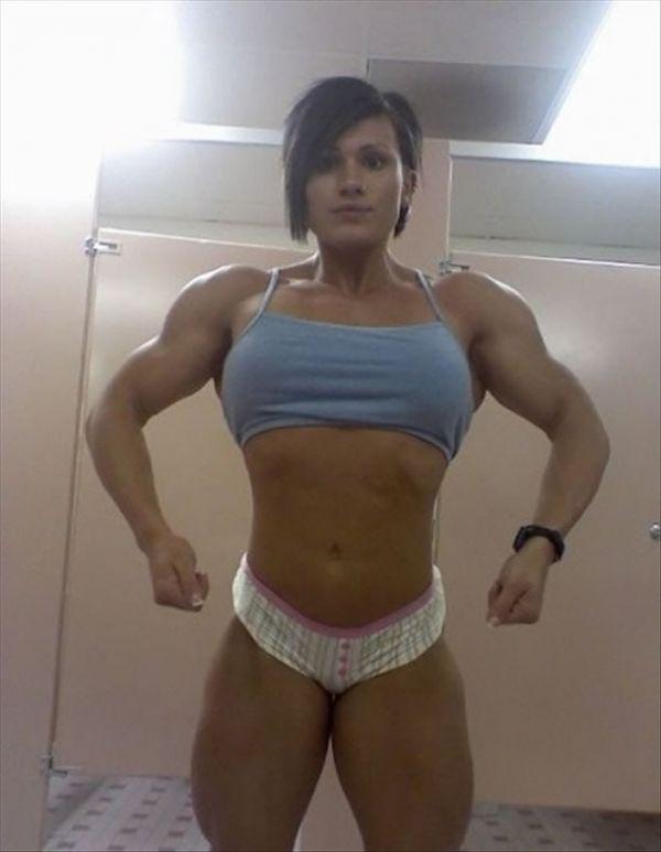 Nackt bodybuilderin Bodybuilder Porno