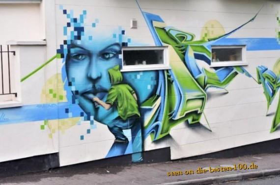 Die besten 100 Bilder in der Kategorie graffiti: schickes Grafitti