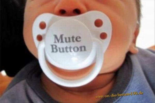 Die besten 100 Bilder in der Kategorie kinder: Baby-Schnuller - Mute Button