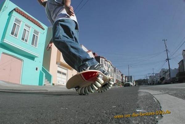 Die besten 100 Bilder in der Kategorie clever: Multi-Rollen-Skatebord