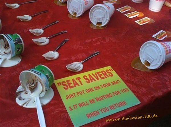 Die besten 100 Bilder in der Kategorie clever: SEAT SAVERS - Auf diesen Stuhl setzt sich Keiner