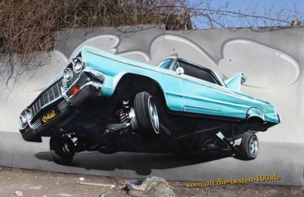 Die besten 100 Bilder in der Kategorie graffiti: Lowrider-Graffitti