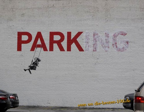 Die besten 100 Bilder in der Kategorie graffiti: PARKing Graffitti