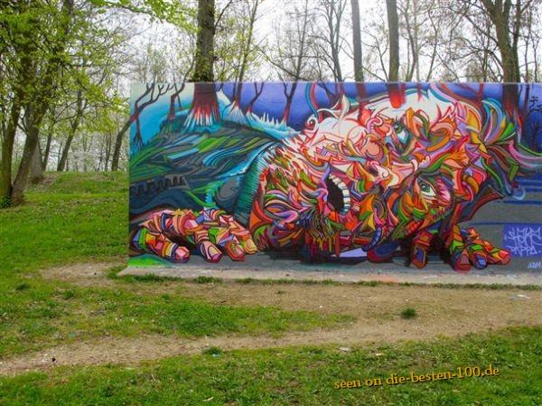 Die besten 100 Bilder in der Kategorie graffiti: Ganz große Graffitti-Kunst