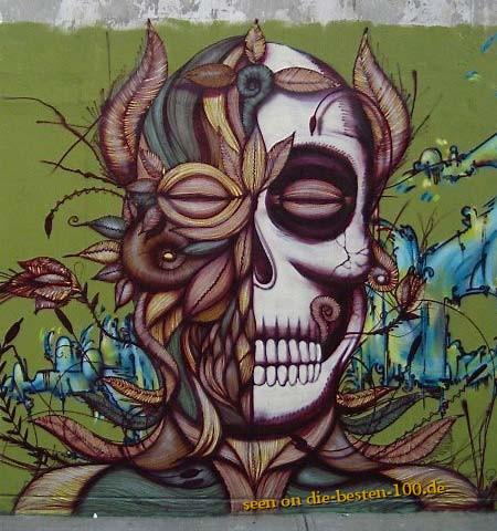 Die besten 100 Bilder in der Kategorie graffiti: skull graffitti art