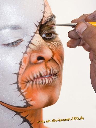 Die besten 100 Bilder in der Kategorie bodypainting: Gesichts-Bodypainting