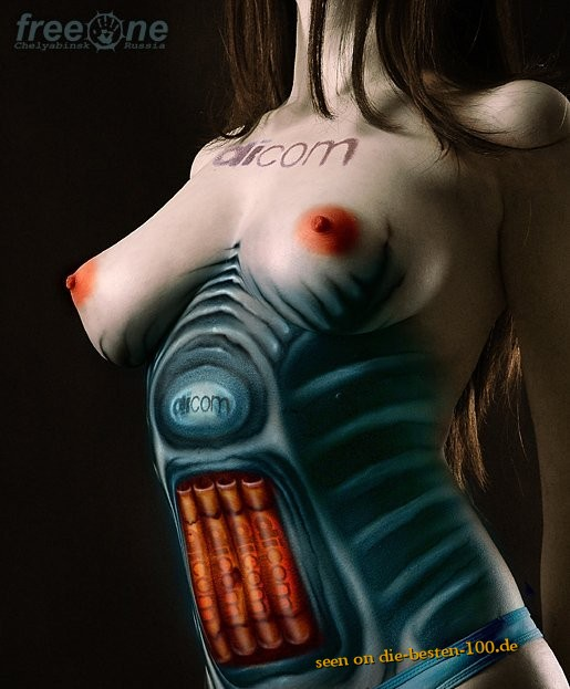 Die besten 100 Bilder in der Kategorie bodypainting: technical Equipment Bodypainting Commercial