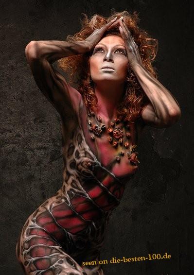 Die besten 100 Bilder in der Kategorie bodypainting: Women Bodypainting Art