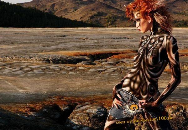 Die besten 100 Bilder in der Kategorie bodypainting: Fantasy Nature Bodypainting