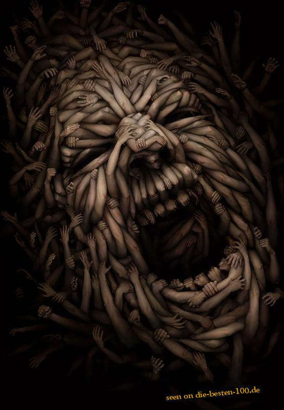 Die besten 100 Bilder in der Kategorie kunst: Armes Gesicht - Gesicht aus Armen (Gliedmaßen)