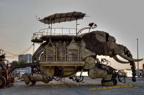 Die besten 100 Bilder in der Kategorie kunst: Burning Man Elephant