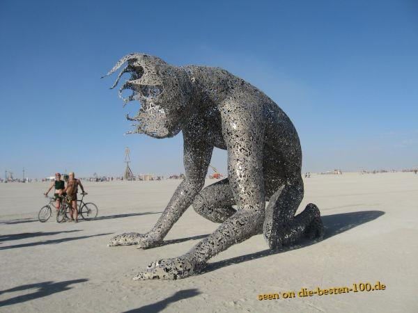 Die besten 100 Bilder in der Kategorie kunst: Burning Man Sculpture