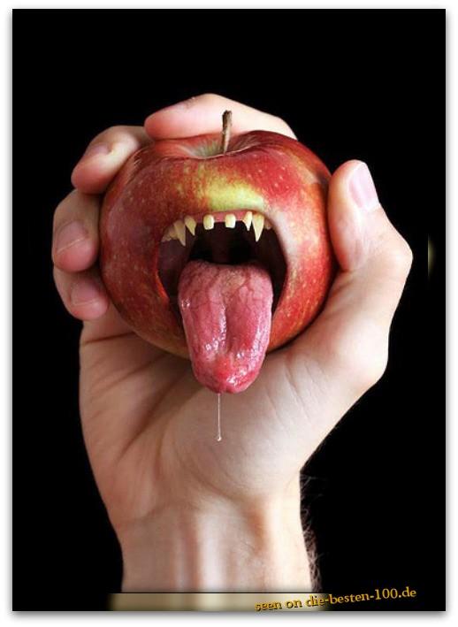 Die besten 100 Bilder in der Kategorie photoshops: spooky apple