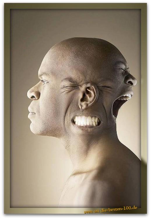 Die besten 100 Bilder in der Kategorie photoshops: Multi-Face-Head Photoshop Construction