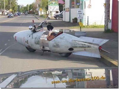funny old rocket Bike