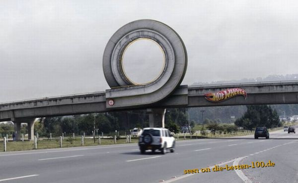 Die besten 100 Bilder in der Kategorie werbung: Hot Wheels Commercial at Bridge